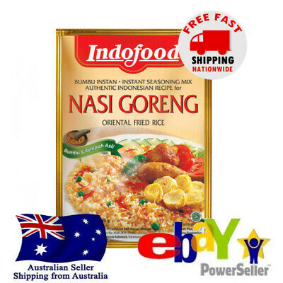 Indofood Nasi Goreng Oriental Fried Rice Halal 45g Spice Seasoning Indonesian