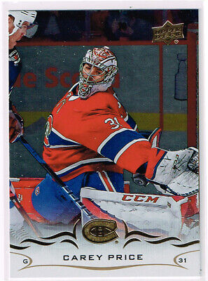2018/19 18/19 UD Series 1 Silver Foil #99 Carey Price - Montreal Canadiens