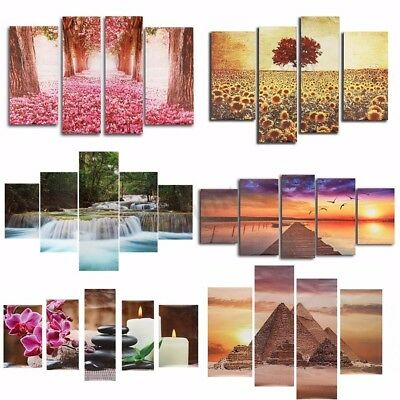 Modern Abstract Unframed Canvas Print Painting Picture Wall Mural Hanging