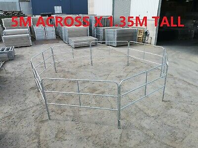 8pcs/set Horse Float Panel 1.35M Tall Pin included Portable for holding yard