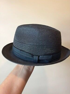 Mens Akubra 'Long Island' Hat Grey Size- 56cm