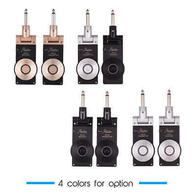 Rowin WS-20 2.4G Rechargeable Electric Guitar Transmitter Receiver Set I3B0