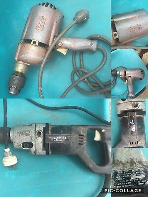 VINTAGE SIDCHROME 13mm MODEL 506 ELECTRIC DRILL + Skill SHER Power drill Rare