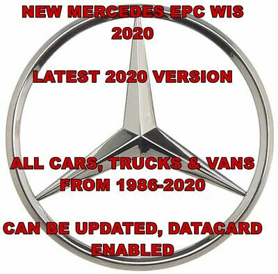 Latest 2019 Mercedes/SMART WIS ASRA & EPC Dealer Service Repair Workshop Manual