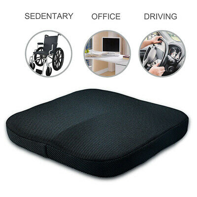 Memory Foam Orthoped Car Seat Home Office Cushion Lumbar Chair Stress Relief Pad