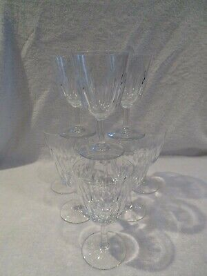 9 verres à vin rouge 16cl cristal Baccarat Cassino crystal red wine glasses v69