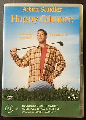 HAPPY GILMORE Adam Sandler DVD