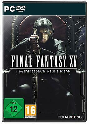 PC Spiel Final Fantasy 15 XV: Windows Edition DVD Versand NEUWARE