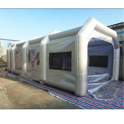 10x5x3.5m Portable Workstation Giant Oxford Cloth Inflatable Tent With Blowe !