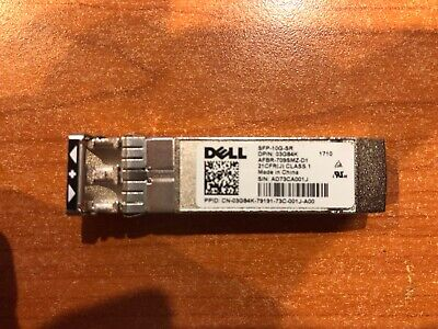 Genuine Dell  SFP-10G-SR Optical Transceiver