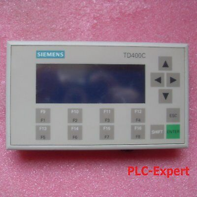 1PC USED Siemens TD400C 6AV6 640-0AA00-0AX0 Tested It In Good Condition