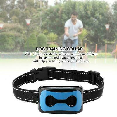 Anti Barking Device Train Dog Repeller Control Electronic Rechargeable Collar HL