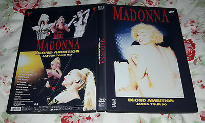 Madonna - Blond Ambition Tour live From Yokohama 1990 (Japan) DVD FAN EDITION