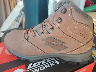 Scarpe Antinfortunistiche Lotto Works Sprint 901 Q8351 S3 Src Alta Impermeabile