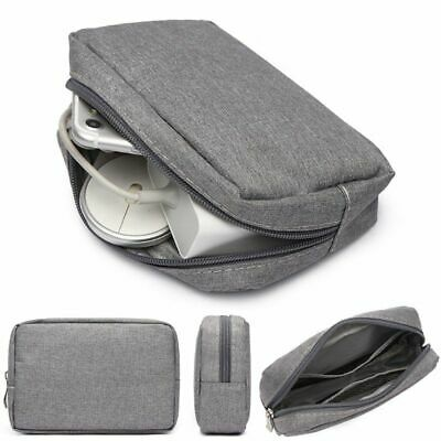 Digital Gadget Devices Storage Bag Organizer Kit Travel USB Cable Earphone Case