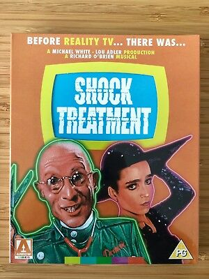 SHOCK TREATMENT Cosmo Edition Arrow Video Limited Edition Bluray - SEALED - OOP