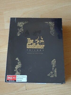 The Godfather Trilogy (45th Anniversary 'Omerta' Ed) NEW 4-Disc BLU RAY BOX SET