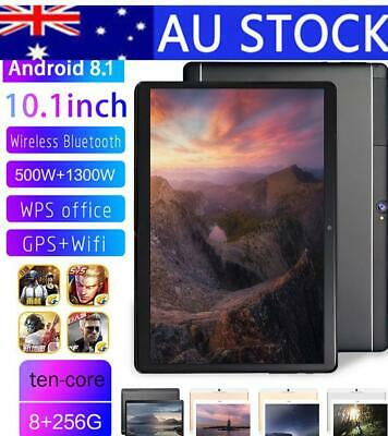 """10.1 """" Android 8.1 8+256G 10 core WiFi Bluetooth PC Camera Laptop for iPadpro AU"""