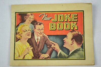 Early Dr. Miles Nervine New Joke Book - Very Rare Quack Medicine Ad