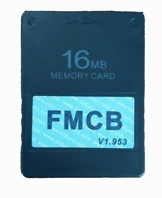SONY PLAYSTATION 2 PS2 FMCB Free McBoot Memory Card Network Adaptor