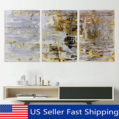 3Pcs 60x40cm Retro Abstract Canvas Print Oil Painting Wall Picture Home Decor  !
