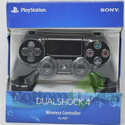 Sony Black DualShock 4 Wireless Controller For PS4 Built-in Rechargeable Battery