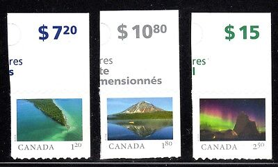 2018 Canada SC# From Far and Wide - from Booklets 3 Stamps M-NH - 1