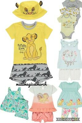 Brand New Baby's Disney Lion King Clothing Short Sets Nala & Simba