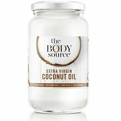 The Body Source 1 Litre Extra Virgin Coconut Oil - 100% Raw and Certified