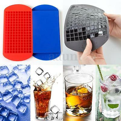 160 Mini Small Ice Cube Tray Frozen Cubes Trays Kitchen Tool Silicone Ice Mold !