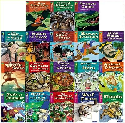 NEW SET of 18 TREETOPS stage  11 12 13 14 15  OXFORD READING TREE Myths Legends