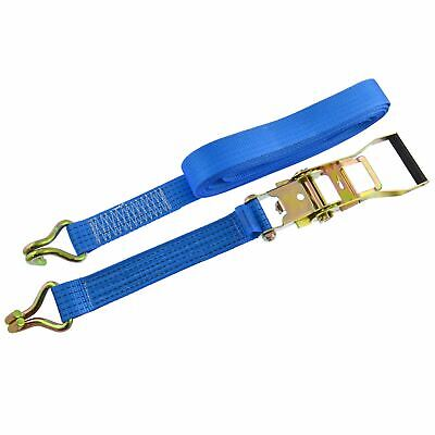 Ratchet Strap Trailer Tie Down 8m Handle Hooks Recovery 2.5 Ton Lashing SM006