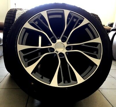 """20 """" Winter Tyre and Wheel Sets for BMW X5 X6 E71 F15 F16 599 Style"""