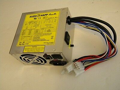 Happ Power Pro 20 Amp Switching  Power Supply Arcade 8 Liner 200 watt pc