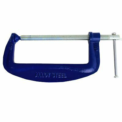 "8"" 200mm Steel G Clamp Grip Holding Welding Woodwork Joiner TE220"
