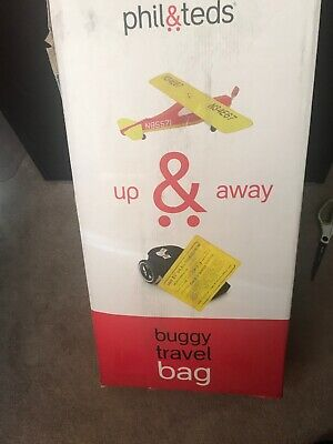 Phil & Teds Up & Away Buggy Travel Bag for Vibe NEW IN BOX NIB