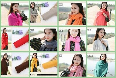 US Seller- 10 Discount Scarves plain fashion casual light weight shawls wraps