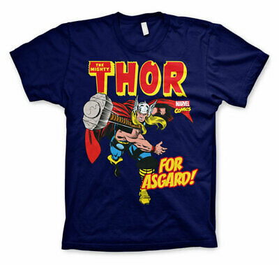 Licence Officielle Marvel Comics The Mighty Thor- pour Asgard ! Homme T-Shirt