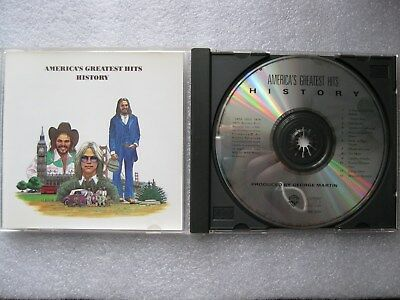 America - Greatest Hits Cd - Free Shipping