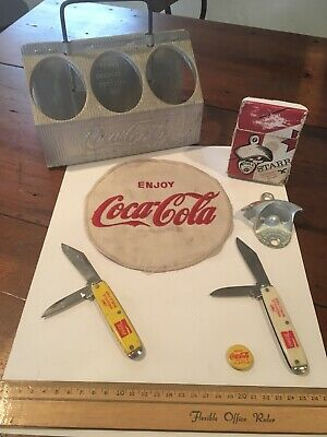 Coca Cola Vintage Antique Collection Lot