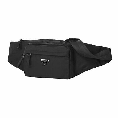 8e2023cedc5c Prada Unisex Marsupio Belt Bag Black Fanny Pack Waist Bag Travel Nylon  Tessuto 2
