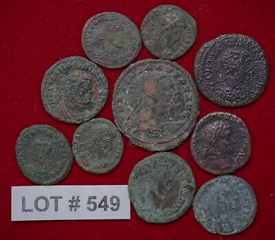 Roman Empire Lot#549 Constantine and other 10 Coins Affordable for Beginners