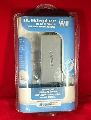 New In Box Nintendo Wii AC Adapter -100-240 Volt Adapter
