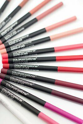 NEW -  MAYBELLINE Color Sensational Shaping Lip Liner - various shades