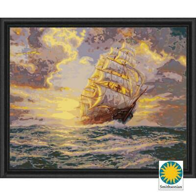 Plaid® Courageous Voyage Paint-by-Number Kit