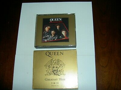 QUEEN Greatest Hits Vols. 1 & 2 1994 US HOLLYWOOD 2 CD IN ORIG SLIPCASE