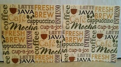 2 Paper Napkins For Decoupage Java Coffee Espresso Scrapbooking Craft Party Bar