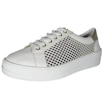 090bba49579 Steven by Steve Madden Womens Nyssa Lace Up Sneaker Shoes
