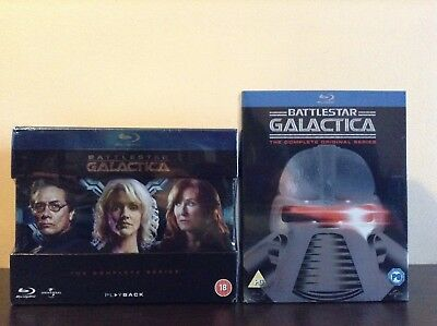 Battlestar Galactica - The Complete Series + The Complete Original Series *NEW*