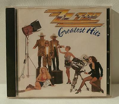 "Album-CD ""ZZ Top - Greatest Hits"" 1992 Rock"